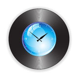 Design of a Clock Royalty Free Stock Photography