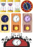 Design clocks Stock Photo