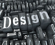 Design close-up Stock Photos