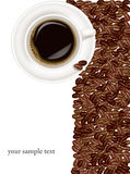 Design coffee background. Stock Photo