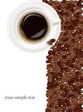 Design coffee background. Stock Photo