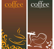 Design for coffee royalty free illustration