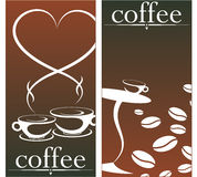 Design for coffee shop Royalty Free Stock Photo