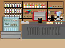 Design Coffee shop Stock Photography