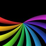 Color lines background. Design of color lines background Stock Photo