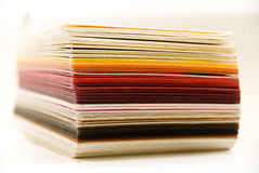 Design colored paper. For printing Stock Image