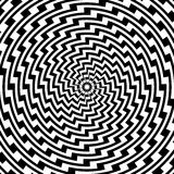 Design colorful spiral circular illusion backgroun Stock Photo