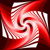 Design colorful vortex movement illusion background Royalty Free Stock Images