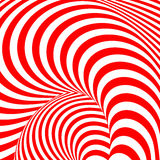 Design colorful whirl movement illusion background Stock Image