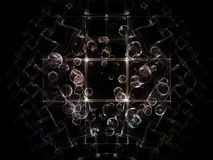 Realms of Fractal Circles Stock Photos