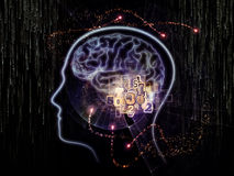 Virtual Human Technology Stock Image