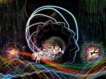 Virtual Human Technology Royalty Free Stock Photo
