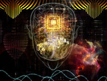 Paradigm of Consciousness Stock Image