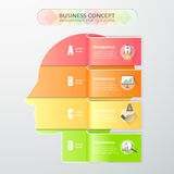Design concept of  brainstorm, can be used for Innovation Royalty Free Stock Image