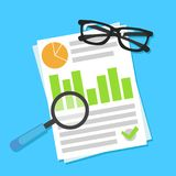 Design concept of business big data analysis.  Stock Photo