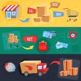 Design concept of e-commerce Stock Photos