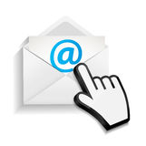 Design Concept Email Write Icon Vector Stock Photo