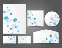 Design of corporate identity Royalty Free Stock Photo