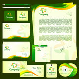 Design corporate template Stock Images