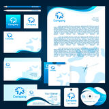 Design corporate template Royalty Free Stock Images