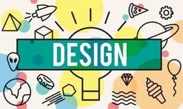 Design Creative Draft Ideas Model Planning Plan Concept Stock Images