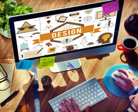 Design Creative Ideas Model Planning Sketch Concept Royalty Free Stock Images