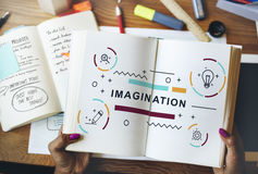 Design Creative Imagination Ideas Graphic Concept Royalty Free Stock Images