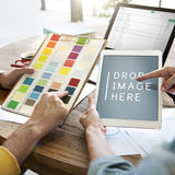 Design Creativity Digital Tablet Technology Copy Space Concept Royalty Free Stock Images