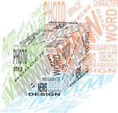 Design cube Stock Images