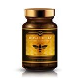 Design d'emballage de gelée royale Images stock