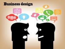 Design d'entreprise Images libres de droits