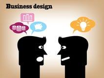 Design d'entreprise Photos stock