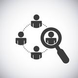 design d'entreprise de travail d'équipe Image libre de droits