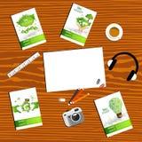 Design d'entreprise de vecteur d'Infographics Image libre de droits