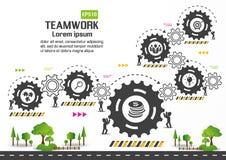 Design d'entreprise de vecteur d'Infographics Photo libre de droits