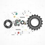 Design d'entreprise de vecteur d'Infographics Image stock