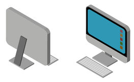 Design 3D für Personal-Computer Lizenzfreies Stockfoto