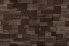 Design of dark wood background, wood wall Royalty Free Stock Photography
