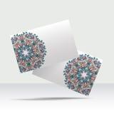 Design de carte abstrait d'affaires Photographie stock