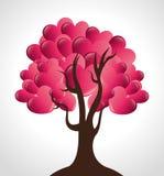 Design de carte d'amour, illustration ENV 10 de vecteur Photographie stock libre de droits