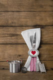 Design de carte de menu pour des valentines, le mariage ou la fête d'anniversaire en Re Image stock