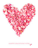 Design de carte de Saint-Valentin Photo stock