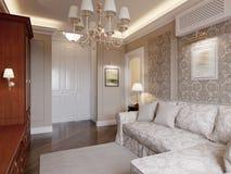 Design de interiores acolhedor da sala de visitas Imagens de Stock Royalty Free