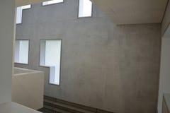 Design de interiores de Haus Moholy-Nagy/Feininger em Dessau-Rosslau Fotografia de Stock
