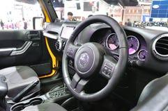 Design de interiores de Jeep Wrangler Sahara novo Imagem de Stock