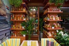 Design de interiores do café Foto de Stock
