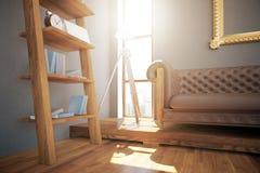 Design de interiores do moderno ilustração stock