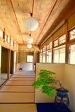 Design de interiores japonês da arte imagem de stock