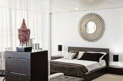 Design de interiores na casa moderna Imagens de Stock Royalty Free
