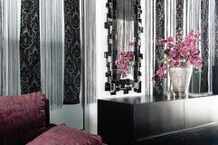Design de interiores na casa moderna Fotografia de Stock